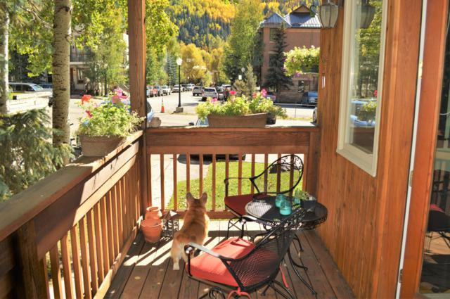 619 W Columbia Avenue C-112, Telluride, CO 81435 (MLS #37119) :: Nevasca Realty