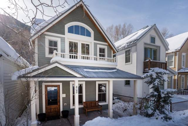 408 W Pacific Street A, Telluride, CO 81435 (MLS #37733) :: Telluride Real Estate Corp.