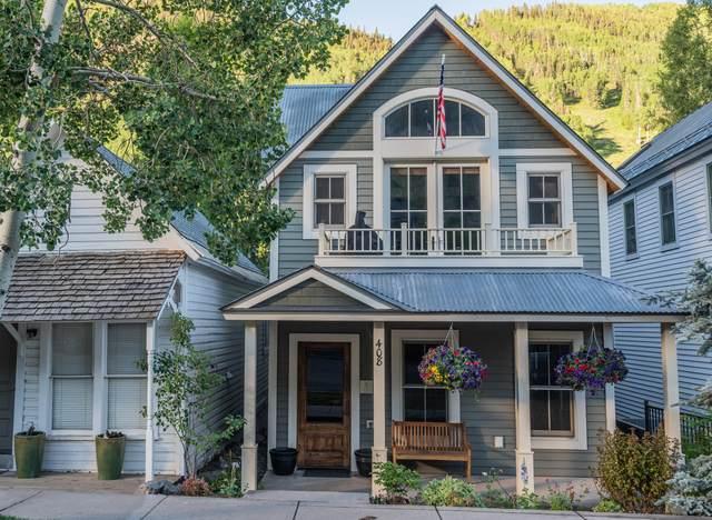 408 W Pacific Avenue A, Telluride, CO 81435 (MLS #38303) :: Telluride Properties