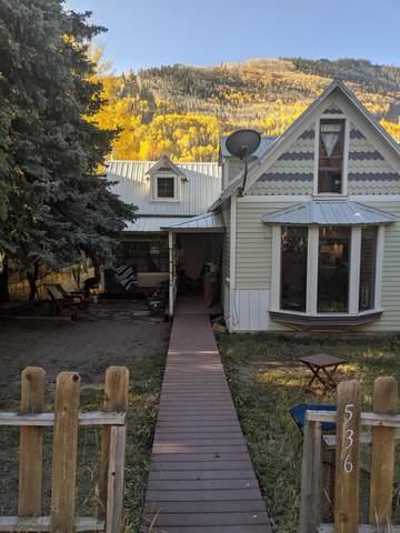 536 W Columbia Avenue, Telluride, CO 81435 (MLS #39694) :: Telluride Real Estate Corp.
