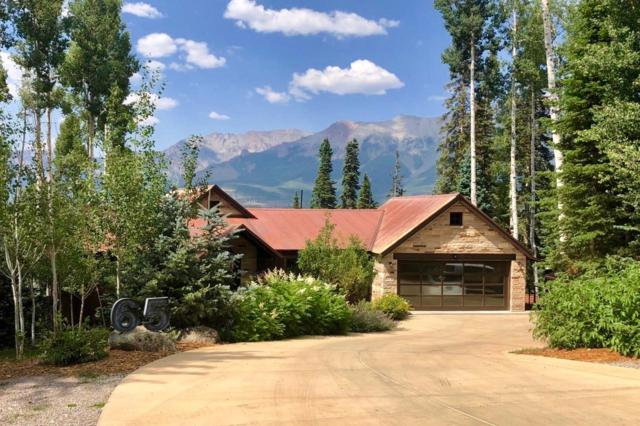 65 Canyon View Circle, Telluride, CO 81435 (MLS #36328) :: Telluride Properties