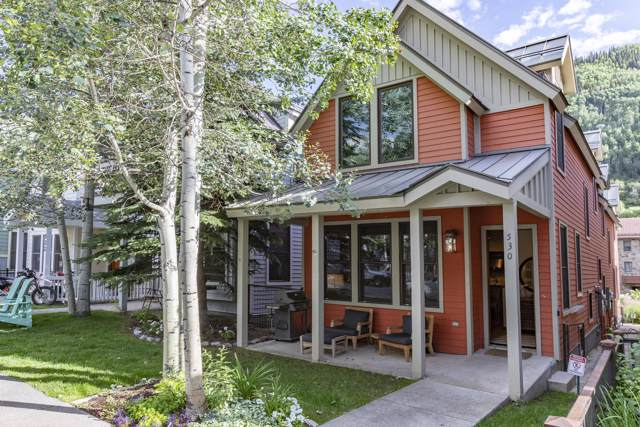 530 W Pacific Avenue A, Telluride, CO 81435 (MLS #37461) :: Coldwell Banker Distinctive Properties