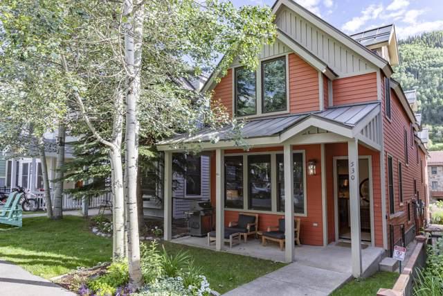 530 W Pacific Avenue A, Telluride, CO 81435 (MLS #37461) :: Telluride Real Estate Corp.