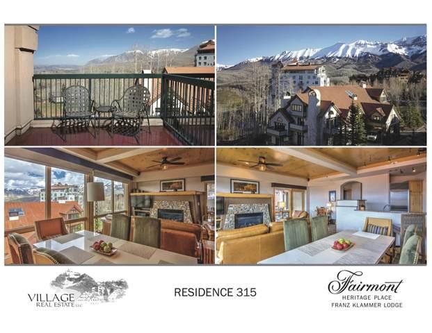 567 Mountain Village Boulevard 315-6, Mountain Village, CO 81435 (MLS #40073) :: Telluride Real Estate Corp.