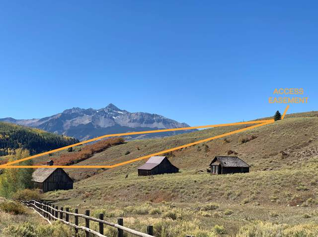 Lot 165 Last Dollar Road, Telluride, CO 81435 (MLS #38810) :: Telluride Real Estate Corp.