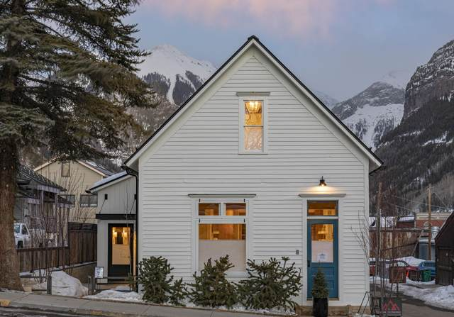 120 N Fir Street West (A), Telluride, CO 81435 (MLS #36858) :: Telluride Properties