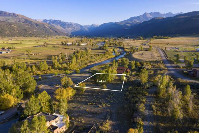 TBD Liddell Drive #10, Ridgway, CO 81432 (MLS #38525) :: Telluride Real Estate Corp.