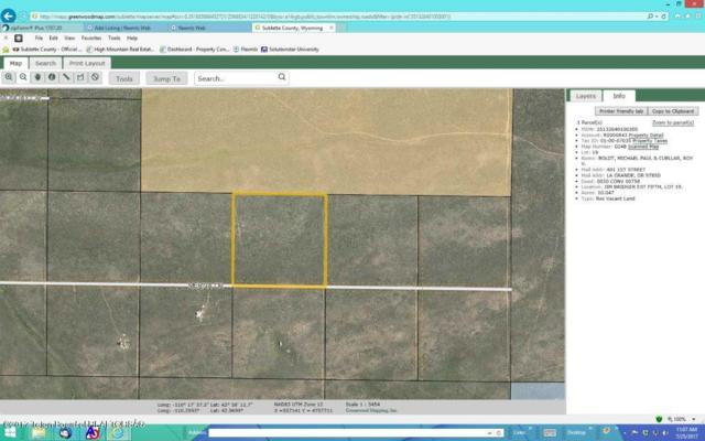 LOT 19 Merna Drive, Daniel, WY 83115 (MLS #17-2241) :: Sage Realty Group
