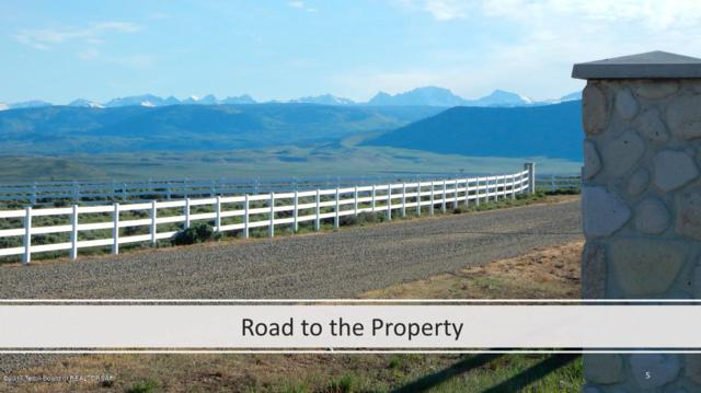 61 Badger Ridge Rd, Pinedale, WY 82941 (MLS #17-2520) :: Sage Realty Group
