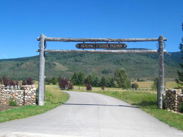 1685 Crooked Creek Road, Alta, WY 83414 (MLS #17-2599) :: Sage Realty Group