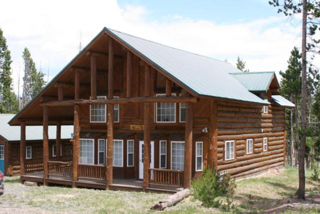44 Crooked Creek Rd, Dubois, WY 82513 (MLS #17-932) :: Sage Realty Group