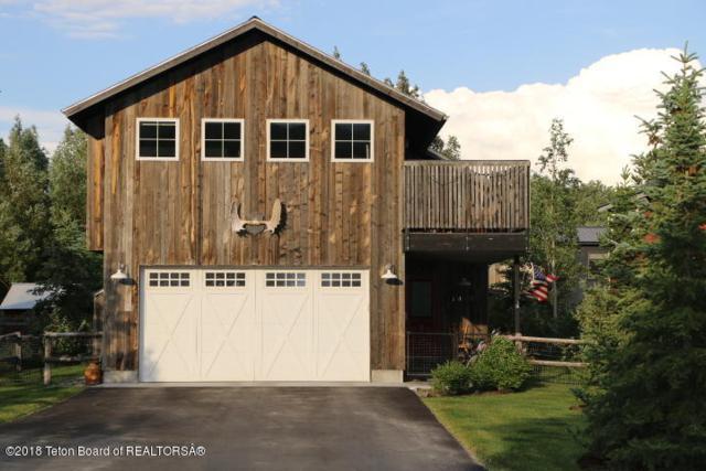 1466 N Old Schoolhouse Ln, Wilson, WY 83014 (MLS #18-1911) :: Sage Realty Group