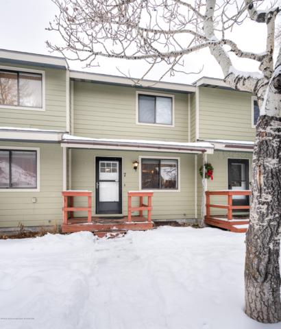 205 Nelson #7, Jackson, WY 83001 (MLS #18-3279) :: Sage Realty Group