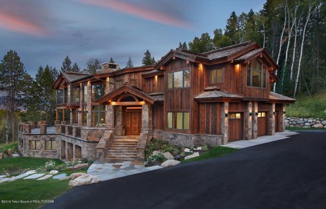 4100 S Taylor Creek Road, Wilson, WY 83014 (MLS #19-1689) :: Sage Realty Group