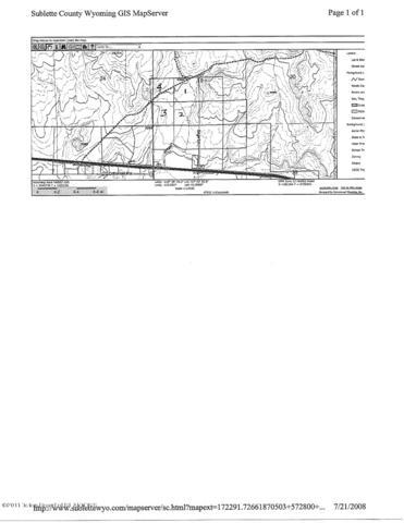 2 Stone Arrow, Daniel, WY 83115 (MLS #19-1978) :: Sage Realty Group