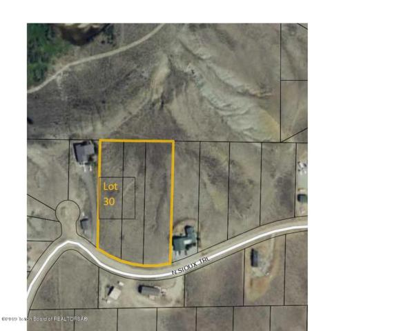 LOT 30 N Sioux Trail, Boulder, WY 82923 (MLS #19-2038) :: Sage Realty Group