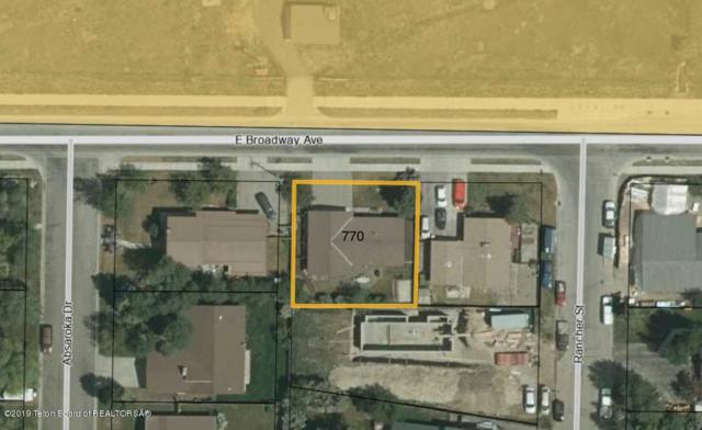 770 E Broadway Ave, Jackson, WY 83001 (MLS #19-40) :: Sage Realty Group