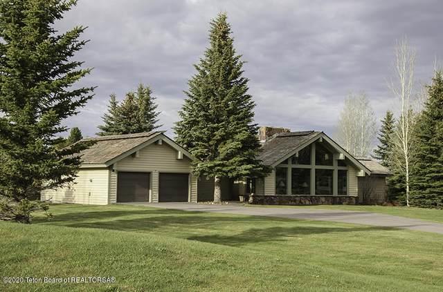 670 E Sagebrush Drive, Jackson, WY 83001 (MLS #20-1050) :: West Group Real Estate
