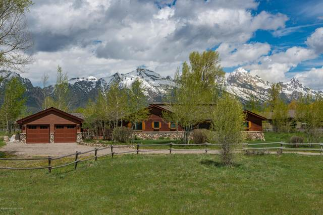 7405 N Spring Gulch Rd, Jackson, WY 83001 (MLS #20-1146) :: West Group Real Estate