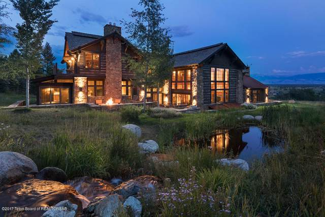 6730 N Ellen Creek Rd, Teton Village, WY 83025 (MLS #20-1524) :: West Group Real Estate
