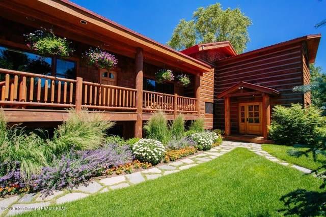 4255 W Nethercott Ln, Wilson, WY 83014 (MLS #20-1796) :: West Group Real Estate
