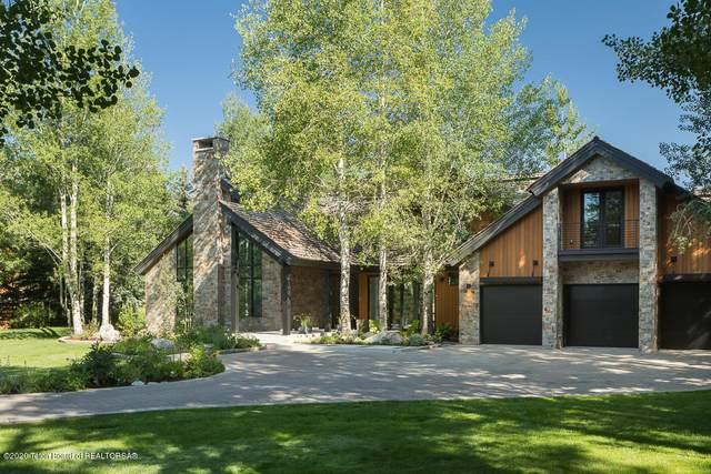 2580 N Teton Pines Dr, Wilson, WY 83014 (MLS #20-2185) :: West Group Real Estate