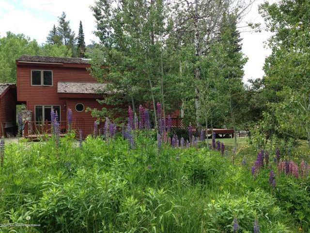 1200 Deer Creek Dr, Hoback Jct, Jackson, WY 83001 (MLS #20-2437) :: West Group Real Estate