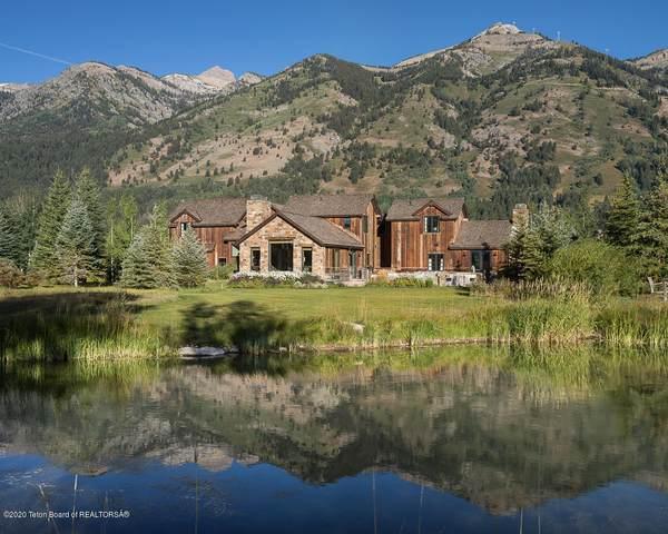 3165 Four Pines Rd, Teton Village, WY 83025 (MLS #20-2743) :: Sage Realty Group