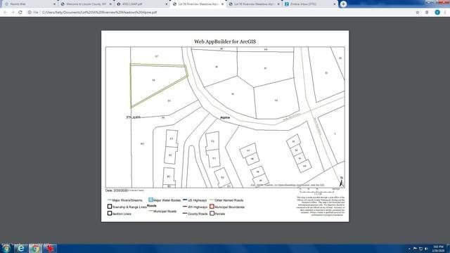 Lot 56 Snake River Dr, Alpine, WY 83128 (MLS #20-287) :: West Group Real Estate