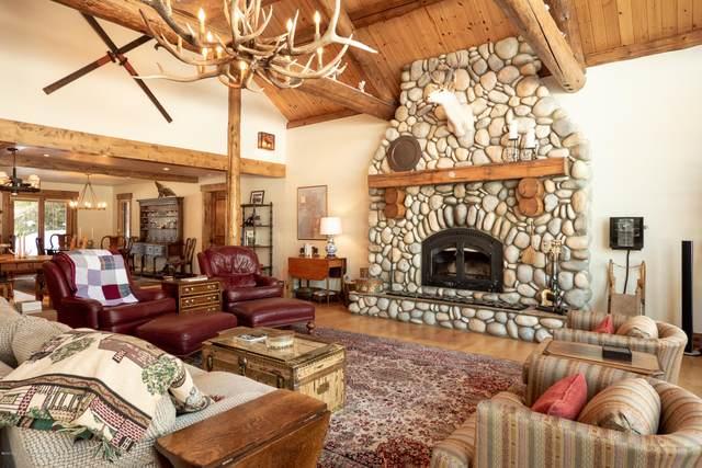 3600 N Lake Creek Drive, Wilson, WY 83014 (MLS #20-306) :: Sage Realty Group