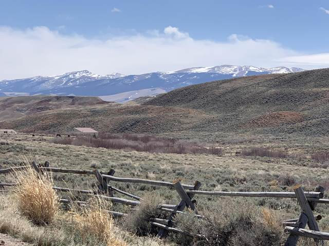 TBD (LOT 1) HORSE CREEK Road, Dubois, WY 82513 (MLS #20-980) :: Sage Realty Group