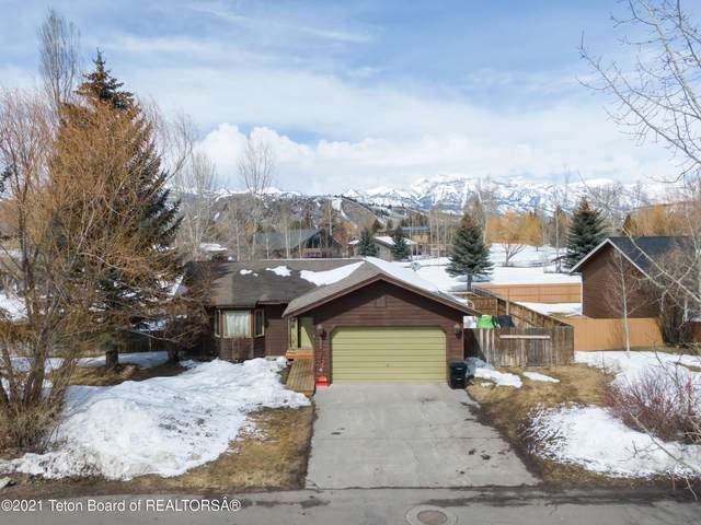 3003 Rangeview Drive, Jackson, WY 83001 (MLS #21-1091) :: Coldwell Banker Mountain Properties