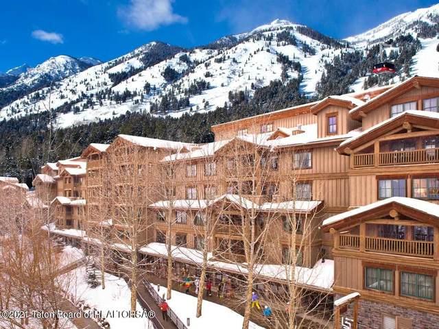 3385 W Village Drive #520, Teton Village, WY 83025 (MLS #21-1226) :: West Group Real Estate