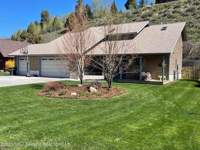 56 Meadow Ridge Rd, Alpine, WY 83128 (MLS #21-1502) :: Coldwell Banker Mountain Properties