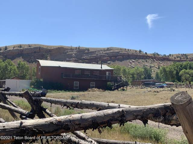 8 Red Creek Ln, Dubois, WY 82513 (MLS #21-1517) :: Coldwell Banker Mountain Properties