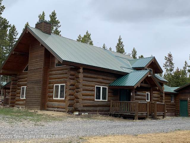 8 Crooked Creek Road, Dubois, WY 82513 (MLS #21-1845) :: Coldwell Banker Mountain Properties