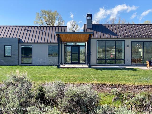 410 Moulton Loop Road, Jackson, WY 83001 (MLS #21-1929) :: Coldwell Banker Mountain Properties