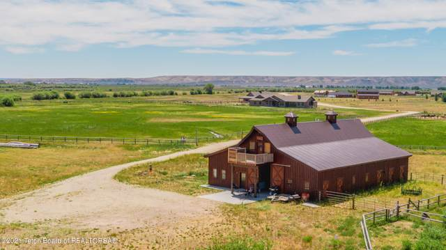 156 Old Brazzill Ranch Rd, Pinedale, WY 82941 (MLS #21-2103) :: Coldwell Banker Mountain Properties