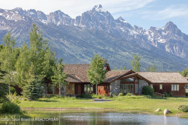 9255 N Avalanche Canyon Rd, Jackson, WY 83001 (MLS #21-2140) :: Coldwell Banker Mountain Properties