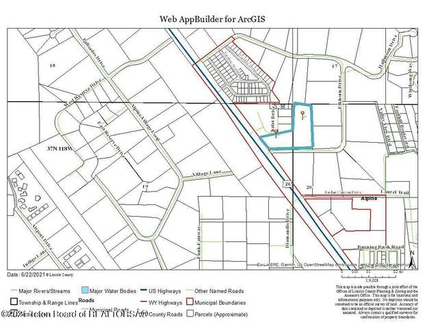 LOT 53 Ushwy 26 & Elkhorn Dr, Alpine, WY 83128 (MLS #21-2163) :: Coldwell Banker Mountain Properties