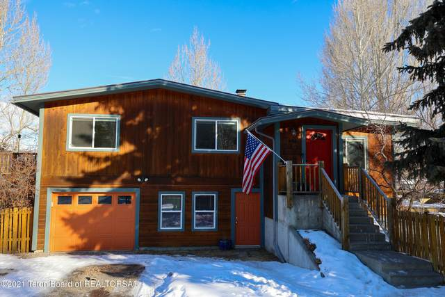 625 E Hall Avenue, Jackson, WY 83001 (MLS #21-235) :: West Group Real Estate