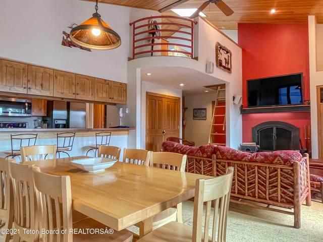 3605 W Michael Drive B-5, Teton Village, WY 83025 (MLS #21-3032) :: West Group Real Estate