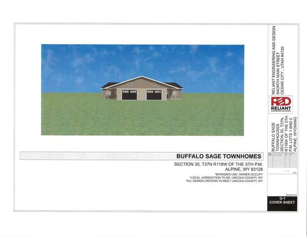 1 Buffalo Sage Townhom #1, Alpine, WY 83128 (MLS #21-3231) :: West Group Real Estate