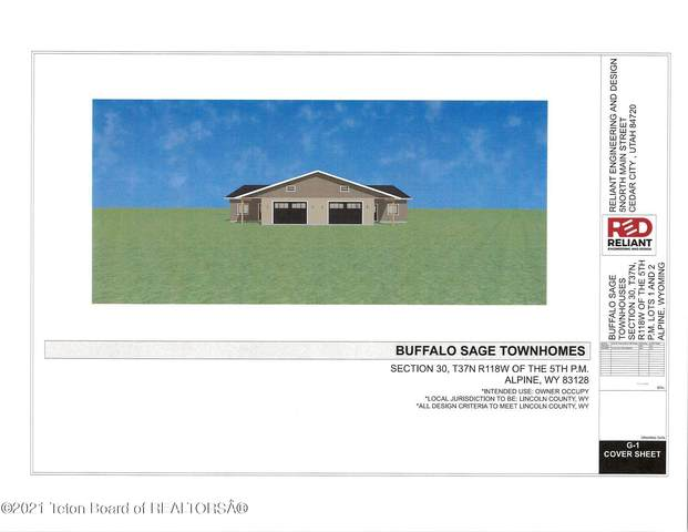 4 Buffalo Sage Townhom #4, Alpine, WY 83128 (MLS #21-3236) :: West Group Real Estate