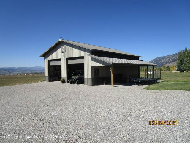 60 Shooting Star Drive, Thayne, WY 83127 (MLS #21-3435) :: West Group Real Estate