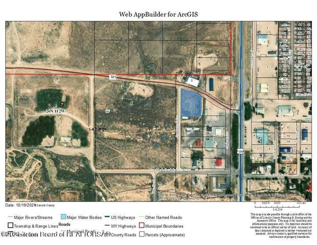 LOT 12 Symmetry Dr, Labarge, WY 83123 (MLS #21-3646) :: Coldwell Banker Mountain Properties
