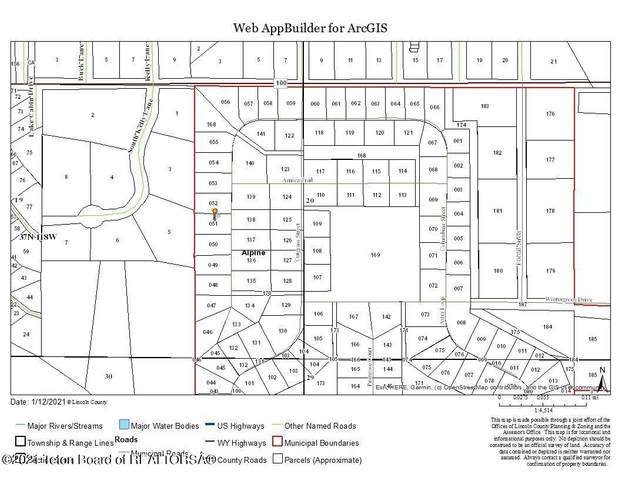 LOT 51 Columbine Street, Alpine, WY 83128 (MLS #21-77) :: Sage Realty Group