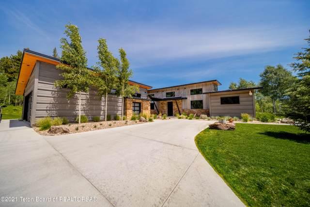 440 Granite Ridge Dr, Alpine, WY 83128 (MLS #21-2306) :: Coldwell Banker Mountain Properties