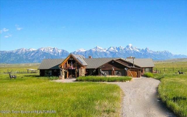 2205 N Nowlin Trail, Jackson, WY 83001 (MLS #21-2600) :: West Group Real Estate