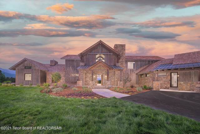 5060 W Eagle Rd, Wilson, WY 83001 (MLS #21-3277) :: West Group Real Estate